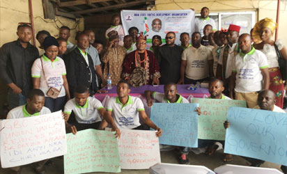 Supreme Court Victory   Abia Youths, Students in Lagos Congratulate Governor Ikpeazu