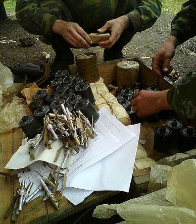 ящик для гранат РГ-42