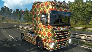Mosaic Scania Streamline skin