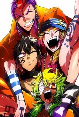 Nanbaka Daftar Rekomendasi Anime Yang Cocok Ditonton Saat Bulan Puasa