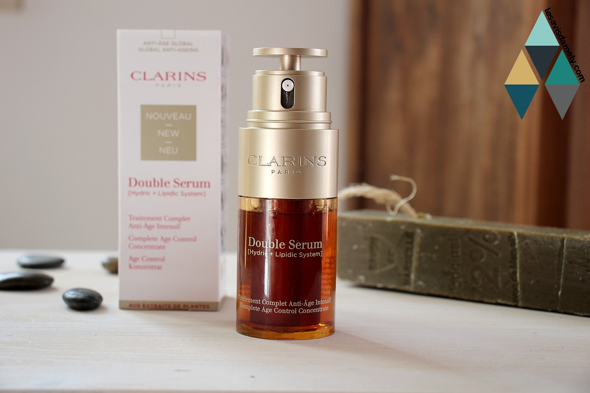 double serum intensif peau mature