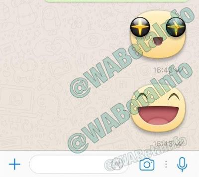 WhatsApp aggiunge sticker Facebook Messenger