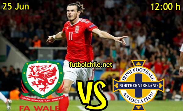 VER STREAM RESULTADO EN VIVO, ONLINE:  Gales vs Irlanda del Norte
