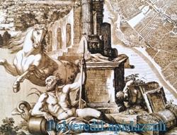 Raffigurazione dello scomparso fiume Sebeto a Napoli