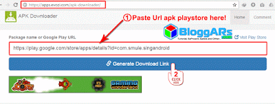 Download Mentahan Apk dengan Apk Downloader