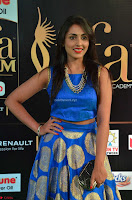 Madhu Shalini Looks Super Cute Slim trim Blue Choli Ghagra IIFA Utsavam Awards 001.JPG