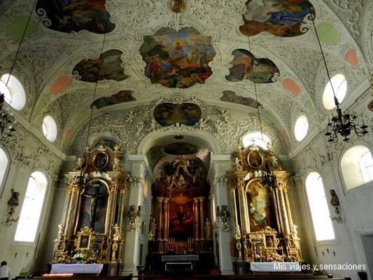 iglesia Spitalkirche, Innsbruck, Tirol, Austria