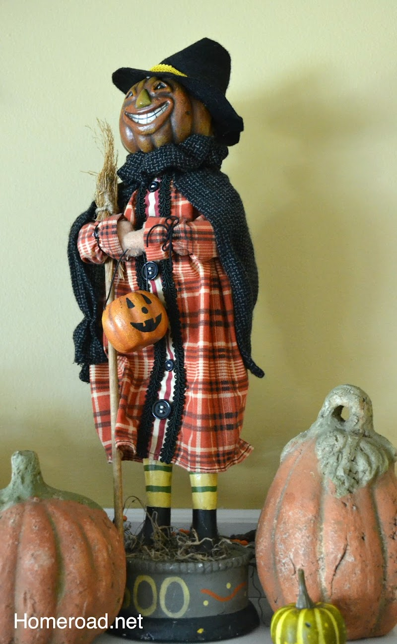 How to Make a Fun Halloween Mantel
