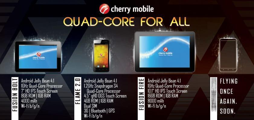 Tablet Mobile Cherry List Price
