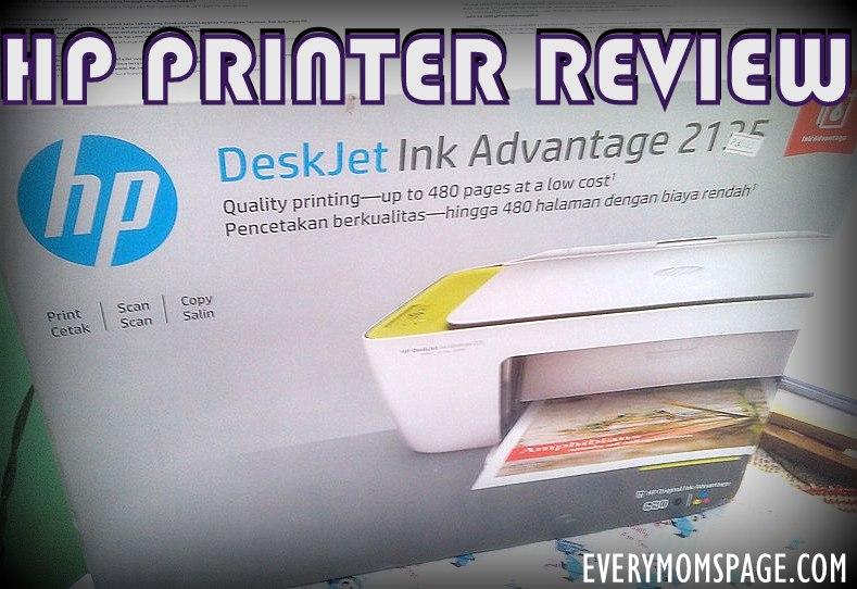 #HP DeskJet Ink Advantage 2135 #Review