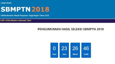 Hasil SBMPTN 2018 Diumumkan Sore Ini, Berikut Sejumlah Link Situs yang Bisa Diakses