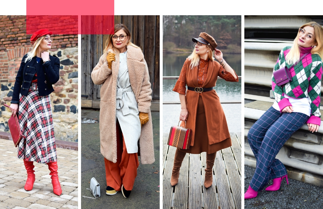 unterschiedliche Looks für Frauen, wie style ich mich ab 30 und ab 40