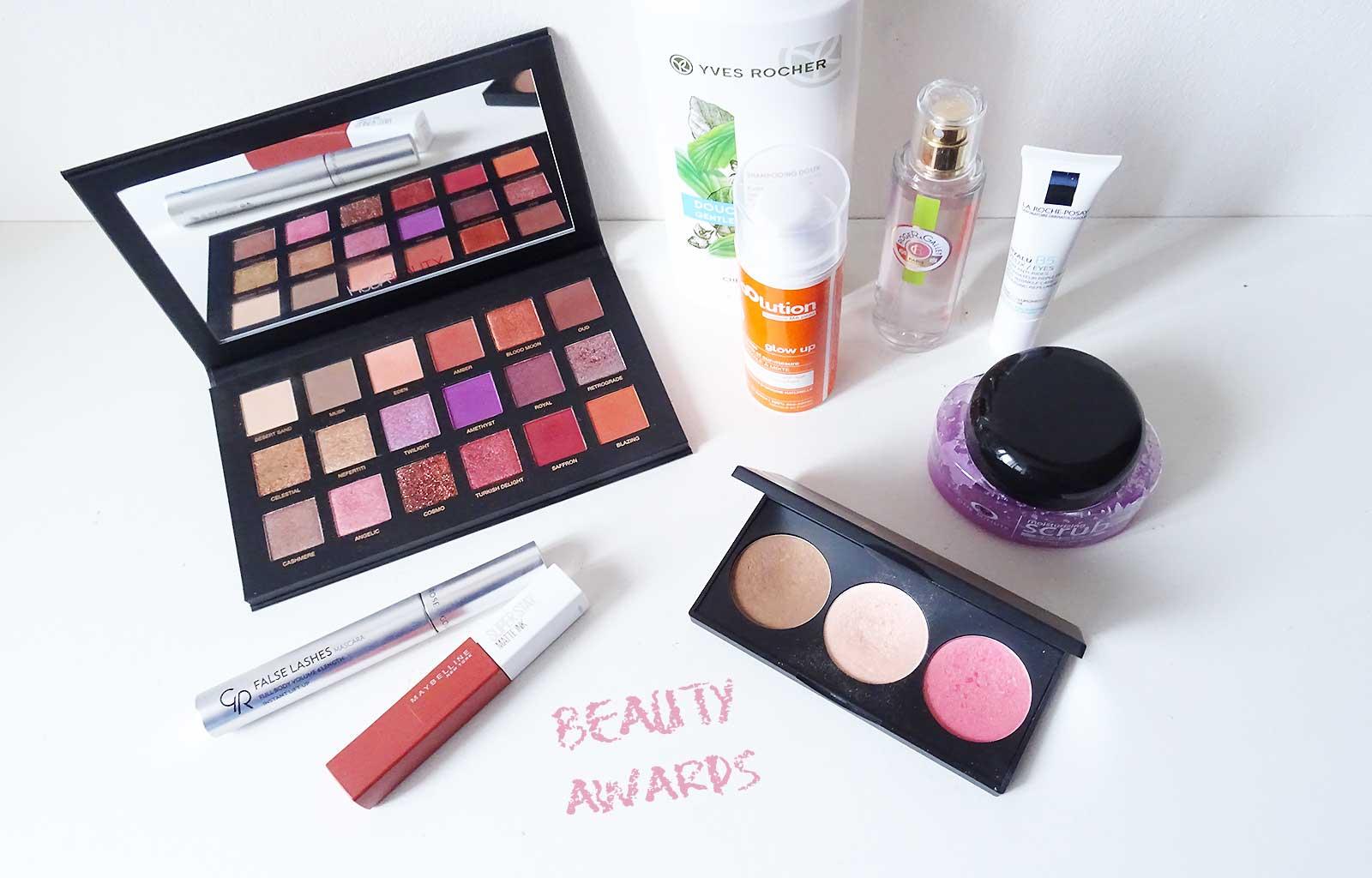 Beauty Awards 2018 : Mes produits coup de cœur de l'année !