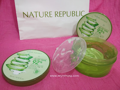 nature republic review pemakaian