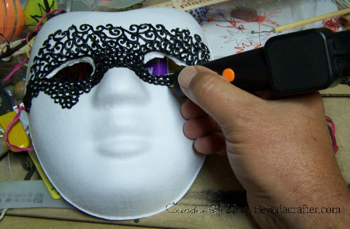 3D Pen Halloween Or Mardi Gras Mask