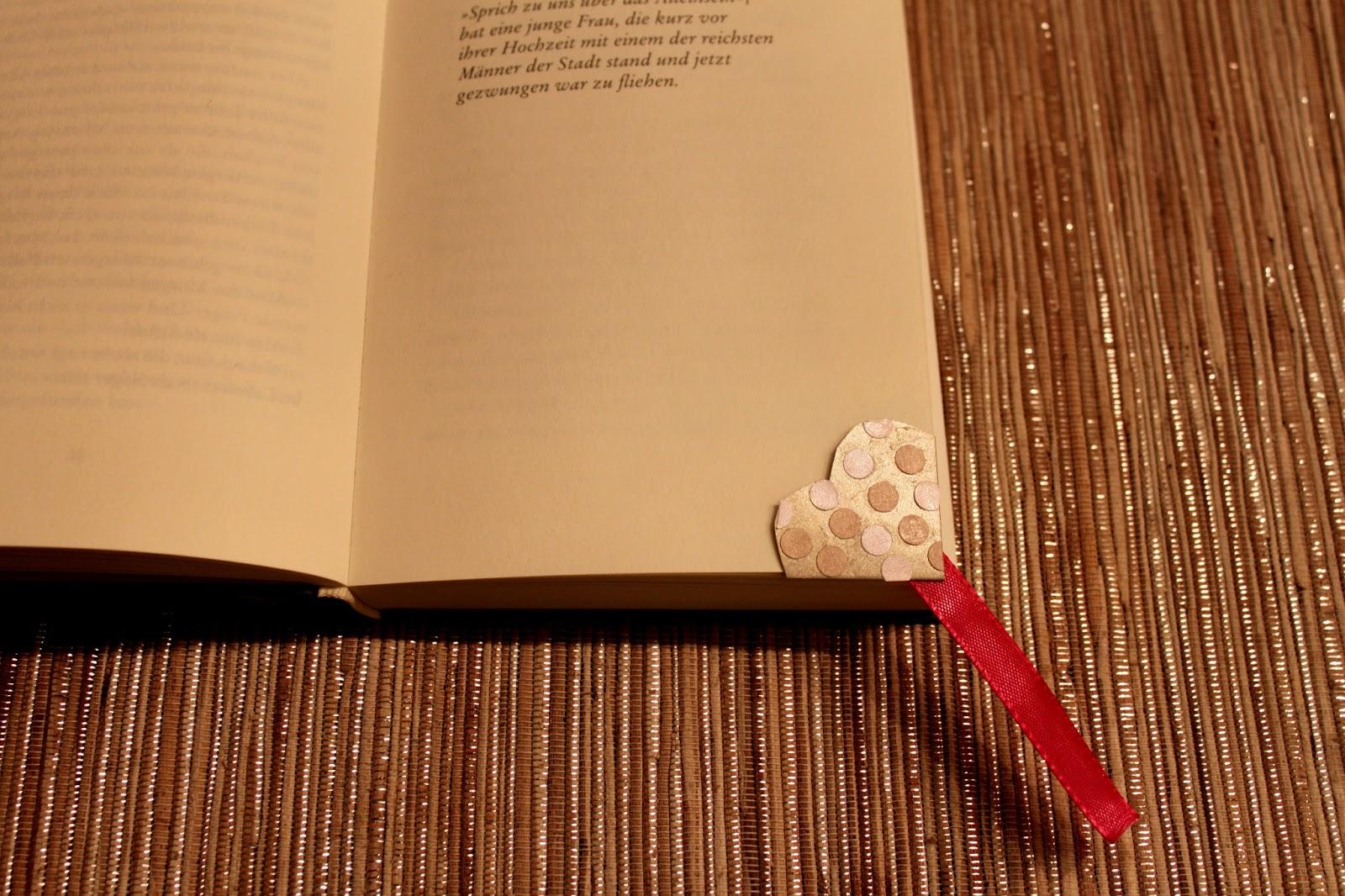 Lesezeichen basteln