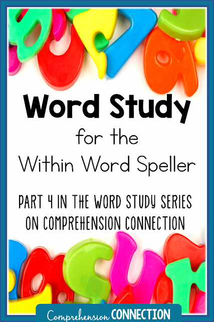 The within word spelling stage is the focus of this post. It includes managing groups, weekly routines, and activities for within word spellers. It will help you get started.