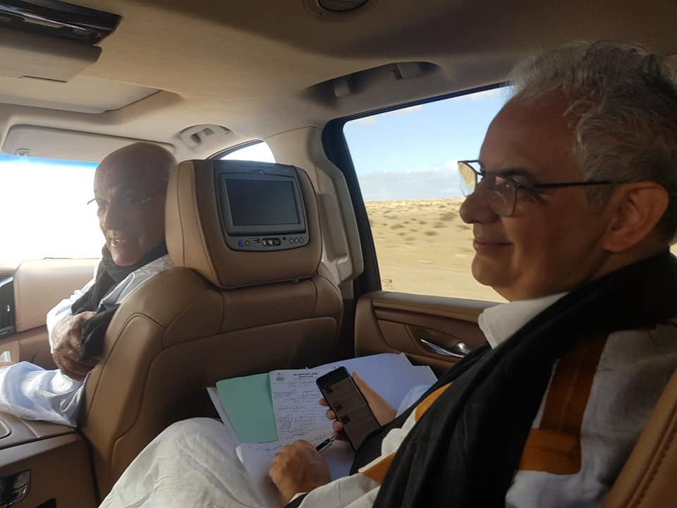 بغاو اصلحو البلاد ....20 مليون تكلفة تنقل قيادة الاستقلال عبر الطائرة للصحراء
