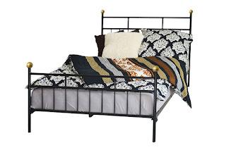łóżka metalowe lak system