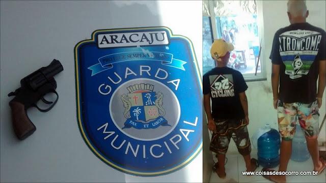 Menores são apreendidos no terminal Maracaju com simulacro de arma de fogo