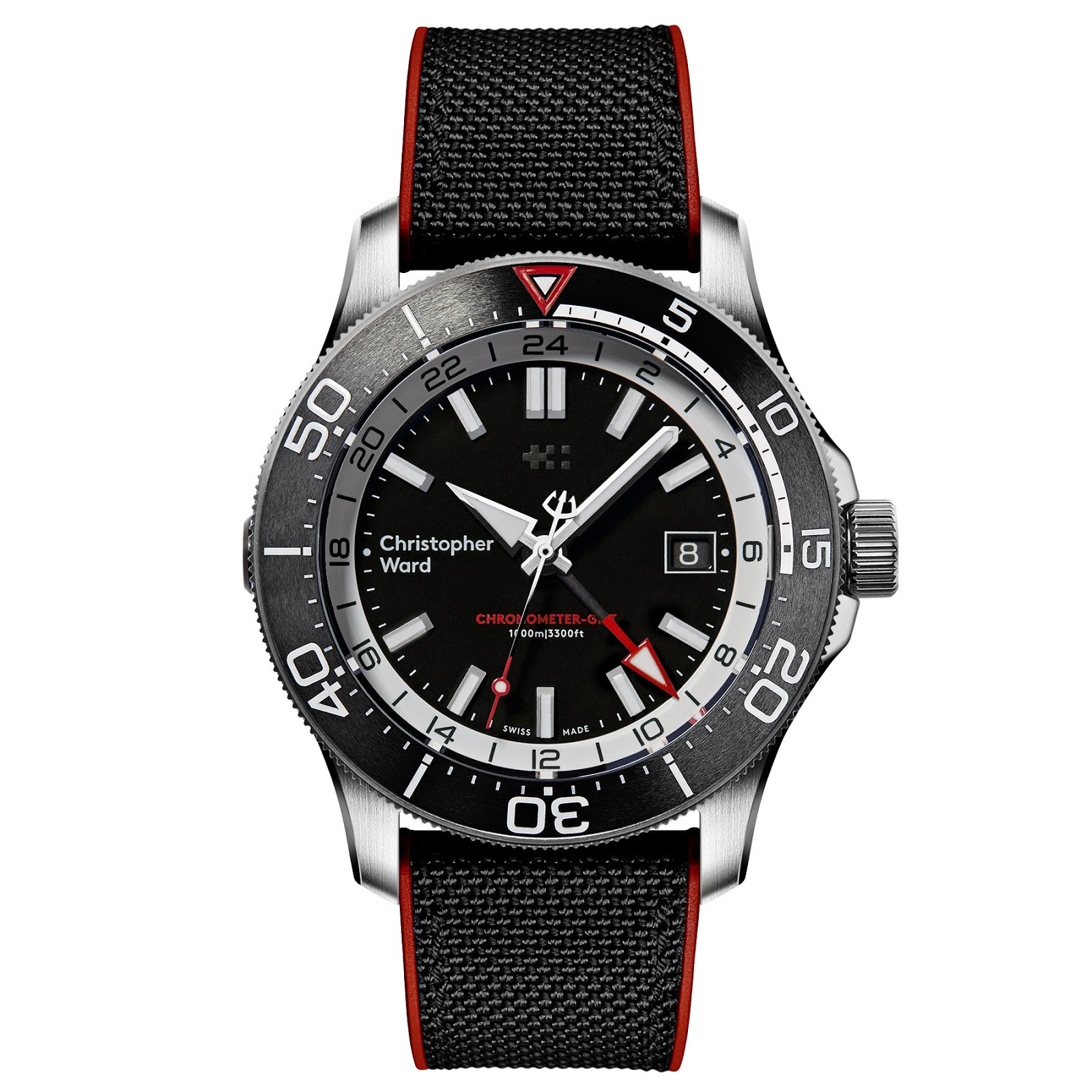 Christopher Ward's new C65 GMT Worldtimer and C60 Elite GMT 1000 Christopher+Ward+C60+Elite+GMT+1000+03