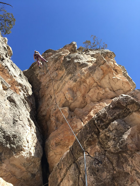 Recent Climbing in the Southwest