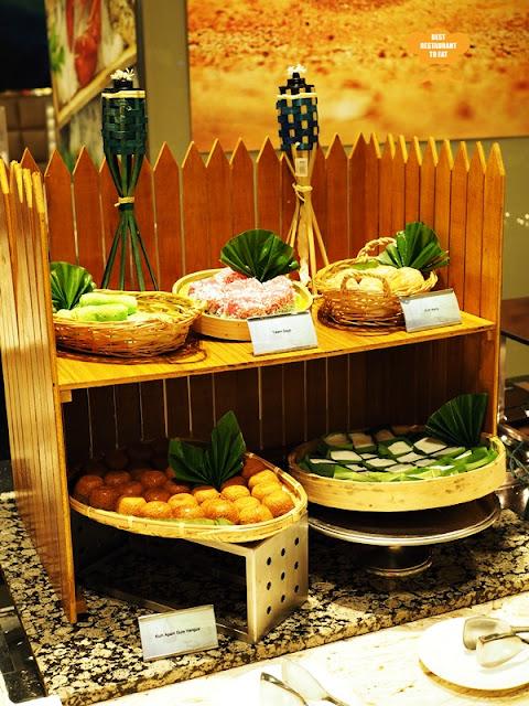 Traditional Kuih Muih Selection One  World Hotel Bandar Utama Cinnamon Coffee House