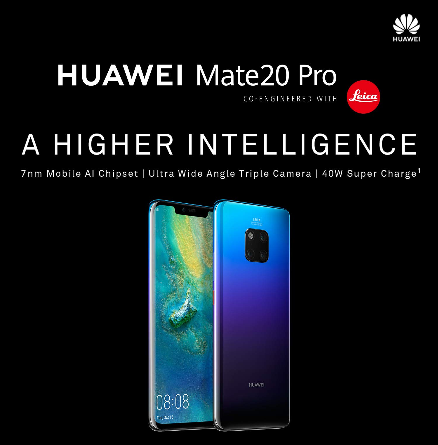 Huawei set to launch flagship Mate 20 Pro in India