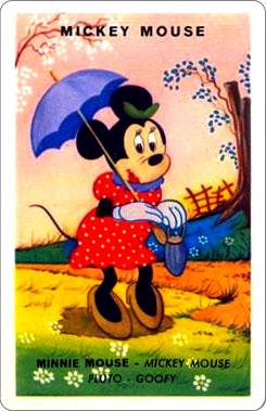 Juego Familias Walt Disney Carta Mickey Mouse 2