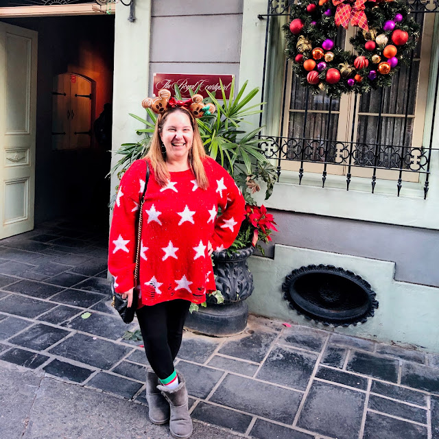 Disneyland Holidays, Christmas, holiday season, Disneyland, top Disneyland holiday ideas, holiday outfit, sweater weather, Wildfox Seeing Stars Lennon Sweater, Splendid Slim Stretch Full Length Leggings, Ugg Classic II Short Boots, Rebecca Minkoff Mini M.A.C Crossbody Handbag