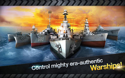 Warship Battle 3D World War II v1.2.3 Mod Apk Unlimited Money