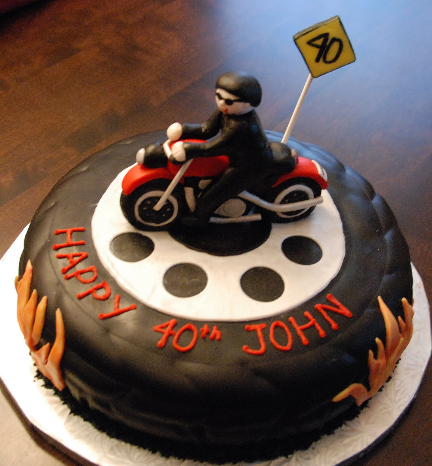 40Th Birthday Cake Ideas For Husband Leo Areestrore Info