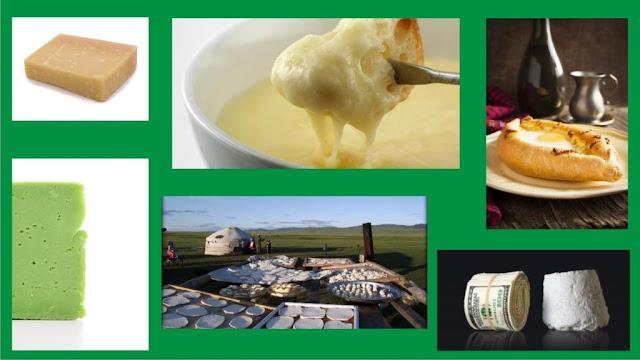 Specialitati brânza din diferite parti ale lumii