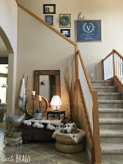 eclectic boho foyer decorating ideas