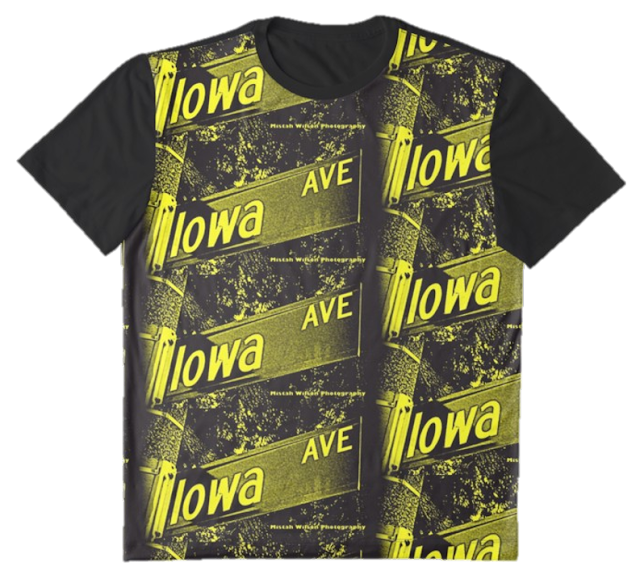 Iowa Avenue, Pasadena, CA BUMBLEBEE Graphic T-Shirt by Mistah Wilson Photography