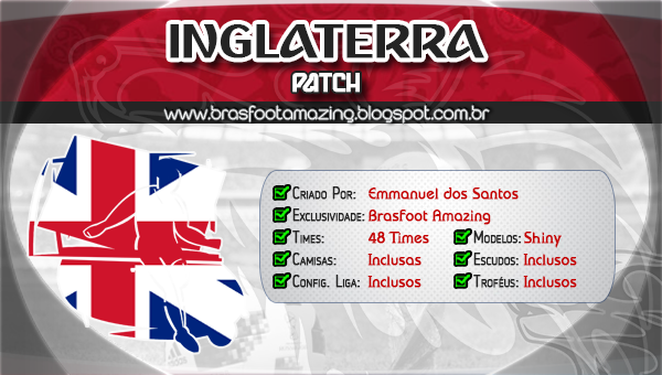 BAIXAR PATCH INGLATERRA BRASFOOT 2012