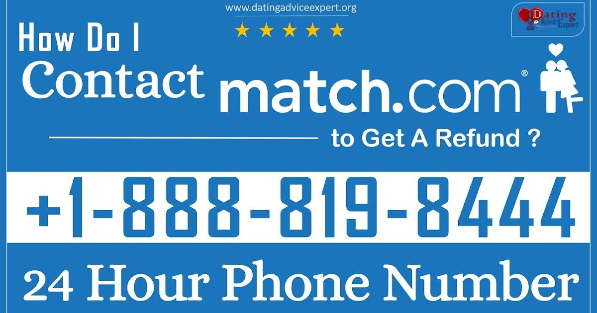 Match com 24 hour phone number