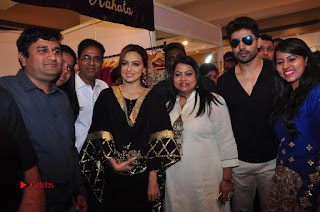 Bollywood Actress Sana Khan Launches Aakrithi Exibition  0344.JPG