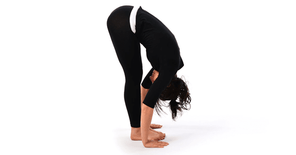 Surya Namaskar- Hasta Padasana (Hand to Foot pose)