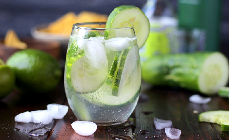 How To Prepare Cucumber Water?