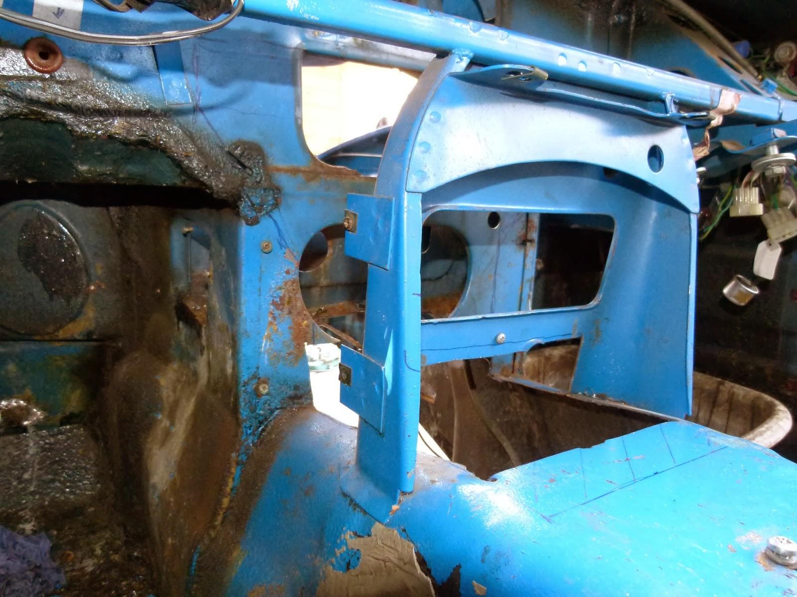 MGB GT 1979 Restoration: October 2013