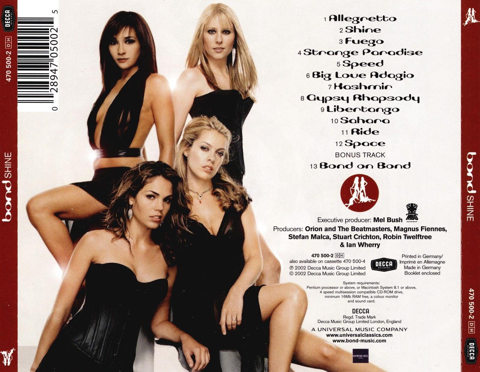 Chia sẻ nhạc Lossless & Lossy: 2002 - Bond - Shine [MP3 320Kbps]