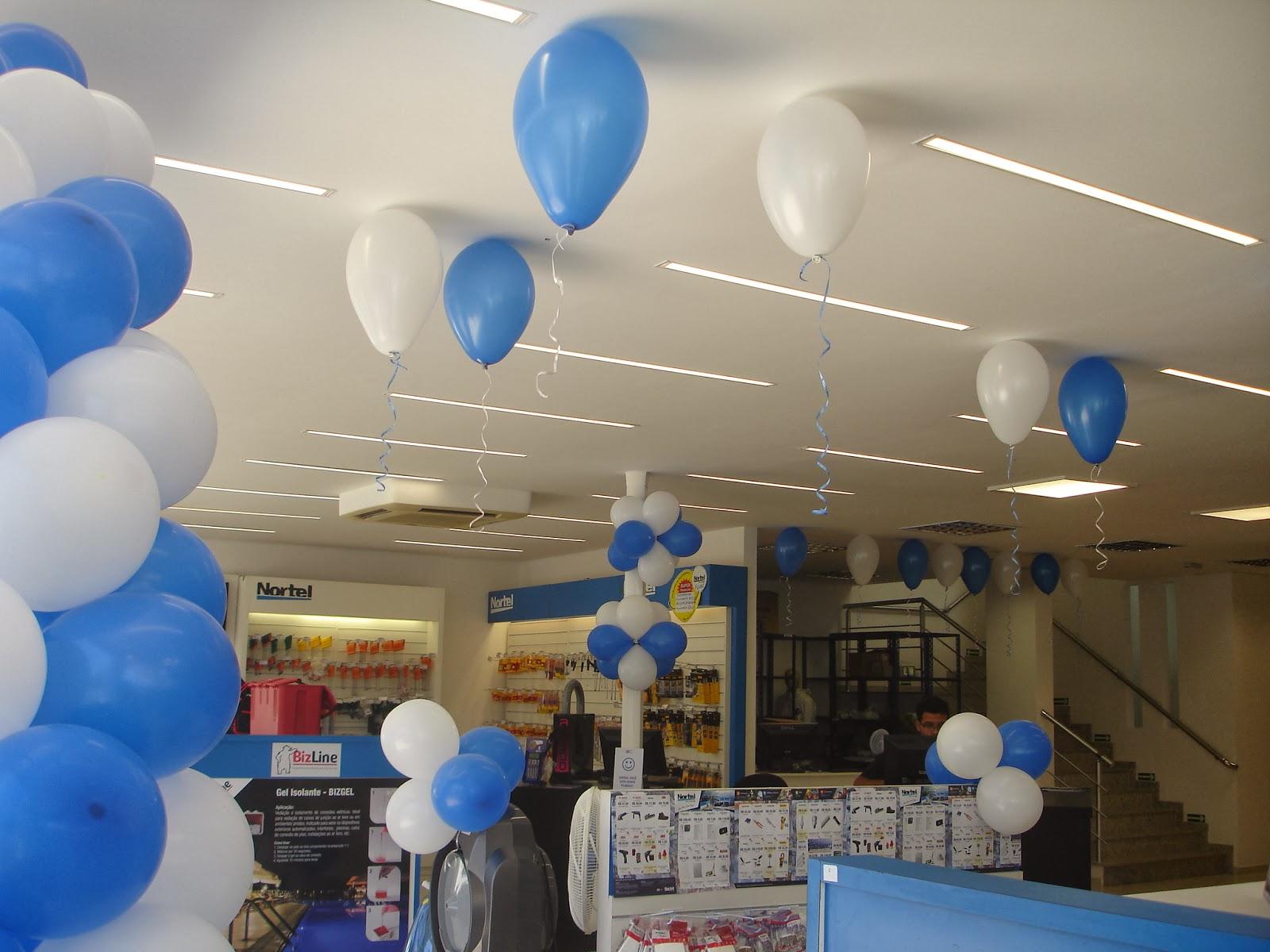Frases De Inauguração De Loja: Decoração Com Balões Para Inauguração De Loja