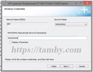 Hướng dẫn cài đặt máy in Hp P1102W qua wifi 18