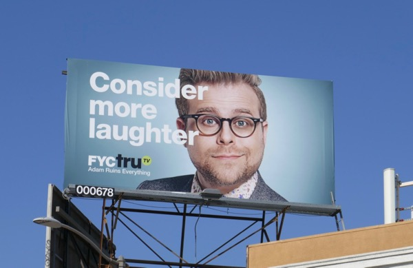 Adam Ruins Everything 2 Emmy FYC TruTV billboard