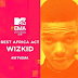 Wizkid stripped of MTV's EMA Best African Act award