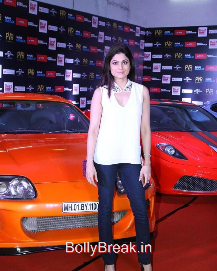Shamita Shetty, 'Fast & Furious 7' Premiere Photo Gallery