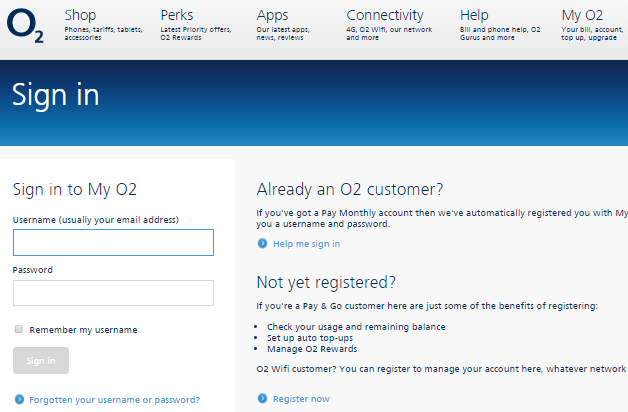 O2 WEBMAIL SIGN IN PAGE
