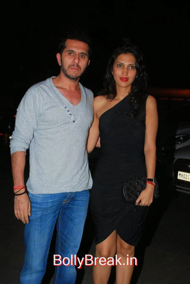 Ritesh Sidhwani with wife Dolly Sidhwani, Richa Chadda's Birthday Party Hot Images