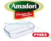 Logo Amadori ti regala subito una pirofila in vetro Pyrex